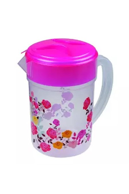 73102 Flora Water Jug 3.L - Multicolor (combo of 2 )