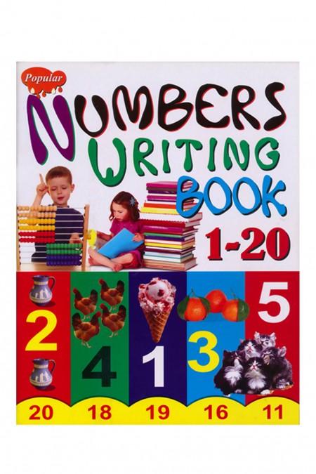 Popular Number Writing 1-20