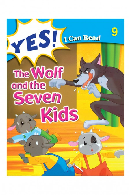 Yes I Can  Read:  The Wolf and the Seven Kids 9