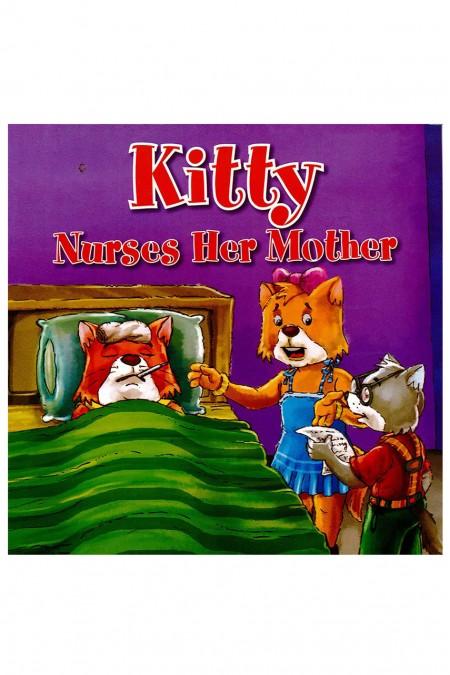 Kitty Nurses Her Mother