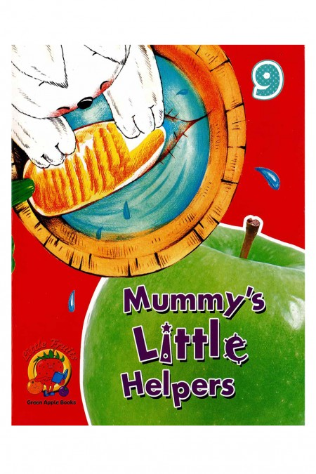 Mummy little Helpers 9 : Little Fruits: Green Apple Books