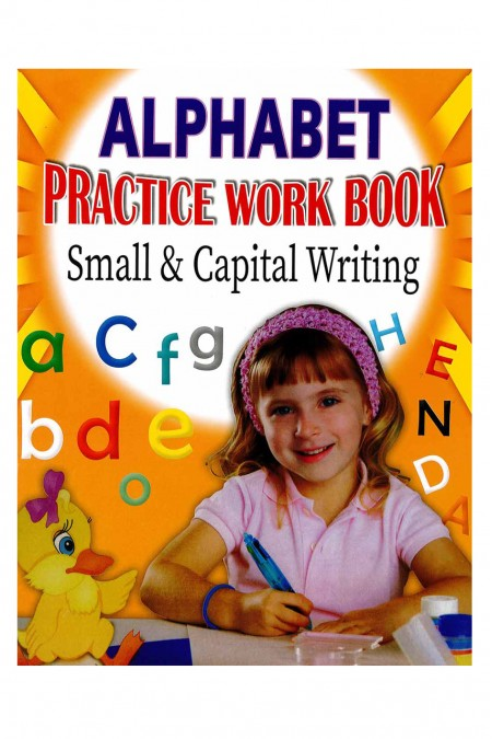 Alphabet Practice Workbook -Small & Capital Writing