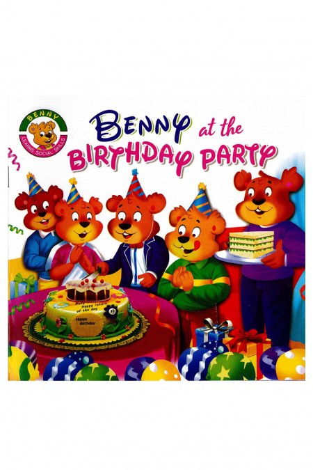 Benny at the Birthday Party;Benny Learns Social Skills