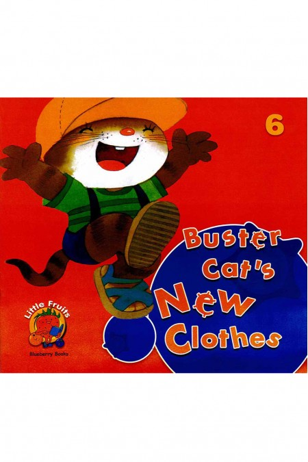 Little fruits: Blueberry Books Buster Cat's New Clothes 6