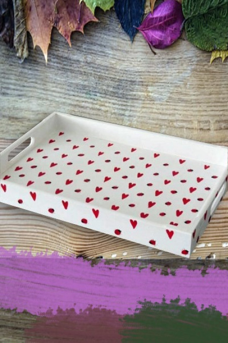 Love Design Tray