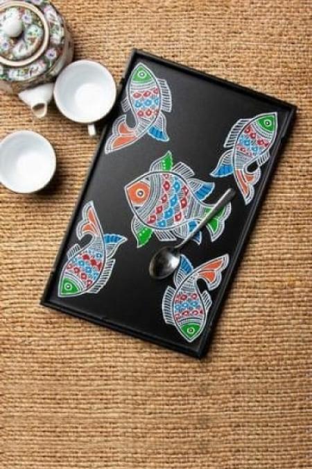 Fish Design Tray