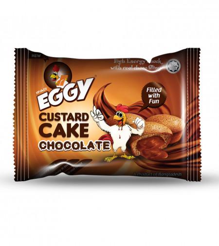 Eggy Custerd Cake (Chocolate)