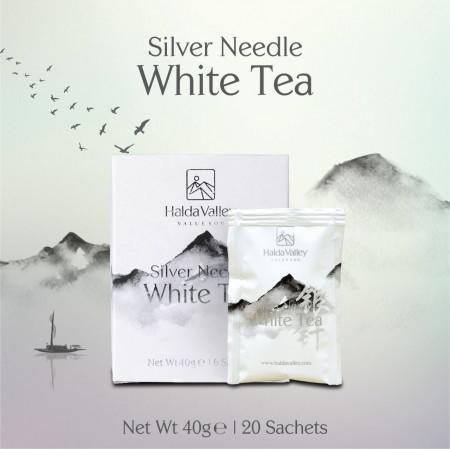 Silver Needle White Tea-40 gm (Sachet Pack)
