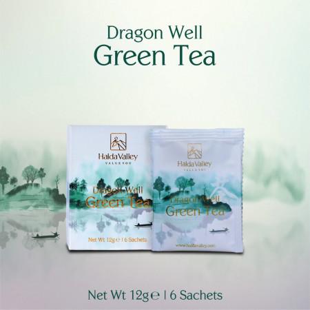 Dragon Well Green Tea-12 gm (Sachet Pack)