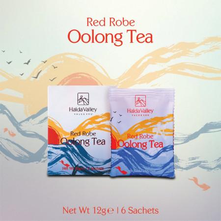 Red Robe Oolong Tea-12 gm (Sachet Pack)