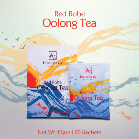 Red Robe Oolong Tea-40 gm (Sachet Pack)