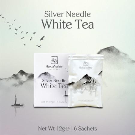 Silver Needle White Tea-12 gm (Sachet Pack)