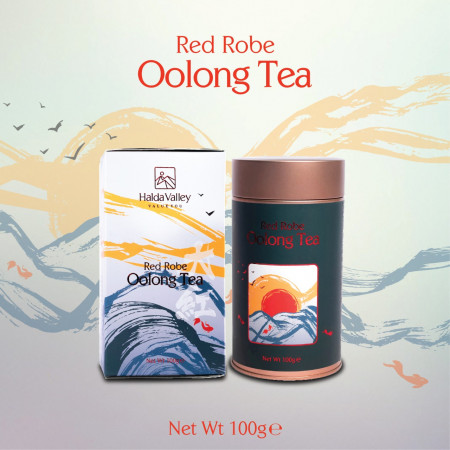 Red Robe Oolong Tea-100 gm (Tin Jar with Paper Pack)