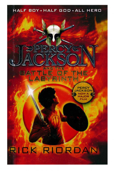 'Percy Jackson And The Battle Of The Labyrinth (Volume # 4)