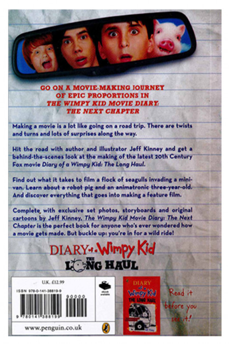 The Wimpy Kid: Movie Diary - The Next Chapter
