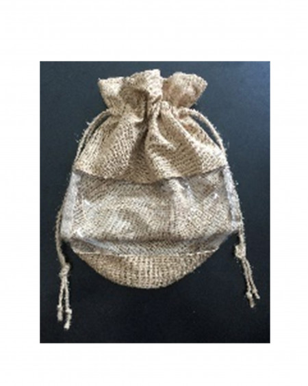 Cellulite Jute Storage Bag